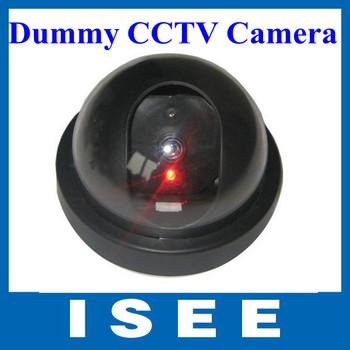 10Pcs/lot  Emulational Fake  Decoy Dummy Camera with Red Blinking LED