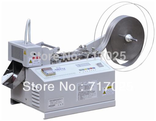 Hot Blade Automatic Tape Cutting Machine/PFL-890 Automatic Computer Hot blade Nylon Tape Cutting and Sealing Machine(China (Mainland))