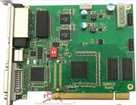 free shipping Linsn sending card TS802D ts/sd802 full clolor dvi/rj45 port sync led display Synchronous sender