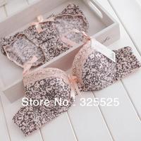 free shipping New product High quality Fashion vintage elegant lace bra set underwear set