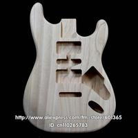 platane wood  electric guitar body electric guitar kit kits platane wood  ST style