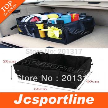 Car trunk storage bag Oxford Cloth folding truck storage box Car Trunk Tidy Bag Organizer Storage Box Free Shipping