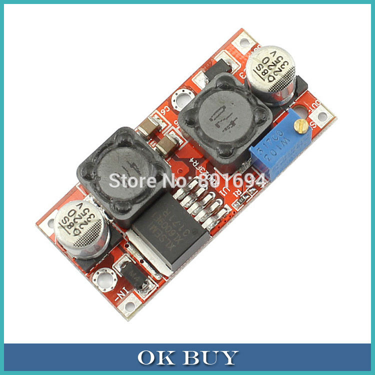DC Boost Buck Voltage 3-35V to 2.2-30V 1.5A Step Up/Down Converter Regulator Solar Buck Moudle(China (Mainland))