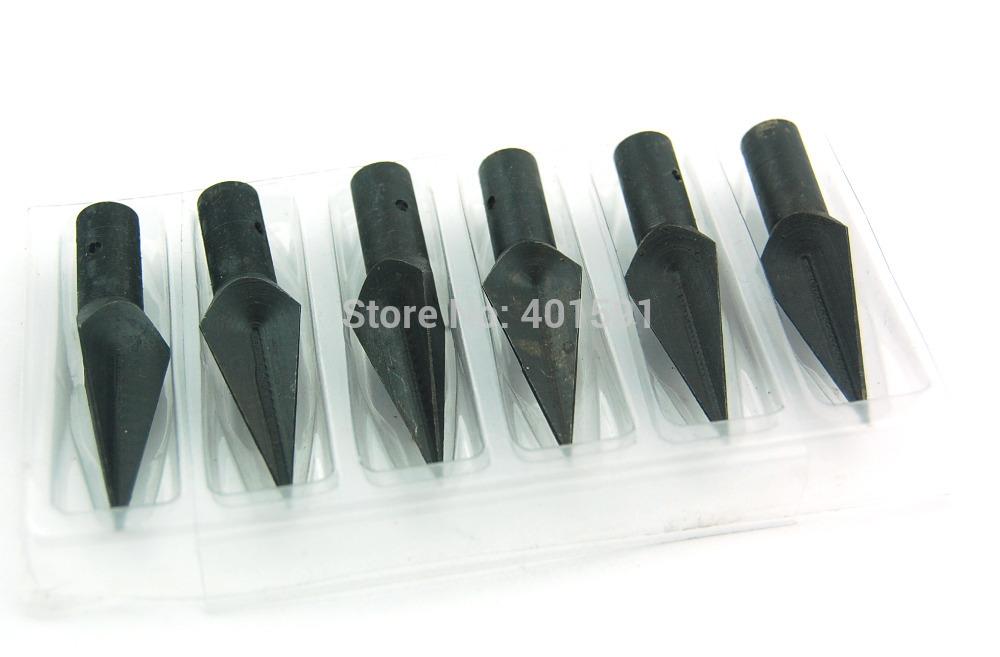 8pcs Ultra Sharp Hunting Arrow Head Broadheads 3 edge blades 154 grain outdoor wood arrow shooting
