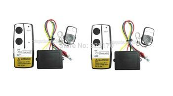 2X 12V Wireless Winch Remote Control Switch Unit for Truck Jeep ATV SUV Winch
