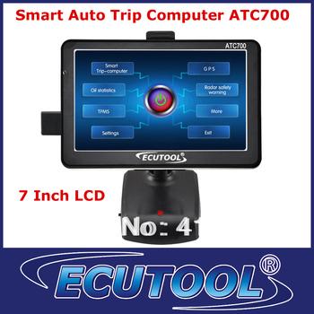 Car PC! 7'' LCD Display ATC700 Smart Trip Computer+GPS Navigation+Oil Monitor+OBD2 Code Reader OBD Tool