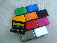 New design 10 colors high quality aluminum wallets credit card holder