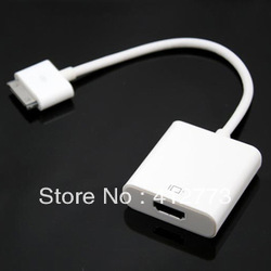 for Ipad dock to HDMI adapter IPAD2 IPAD3 hd video line(China (Mainland))