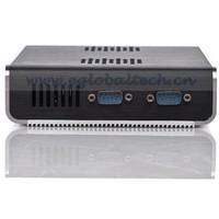 Intel N270 1.6GHz, 1G RAM, 16G SSD, Dual COM port Industrial Desktop Computer 6 USB Mini PC X86 Protable  Mini PC Linux