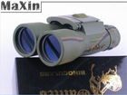 Powerview Galileo 22x36 Compact Folding Roof Prism Binocular Telescope Optics lens Hunting Free Shipping(China (Mainland))