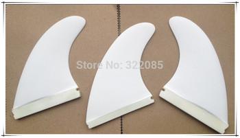 white color fiberglass future base surf/surfing/surfboard fin