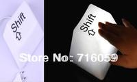 Free Shipping LED Night Lamp Keyboard Night Light Keypress Lamp 220V -250V  EU Plug Available