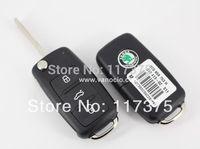 Skoda Octavia , Superb , Fabia remote key 434mhz with ID48 transponder chip ,model: 3T0959753H ( 3T0 837 202H )