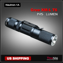 ThruNite Neutron 1A Cree XM-L T6 AA LED Flashlight Portable LED Torch Outdoor Lamp waterproof flashlight(China (Mainland))
