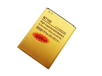 Hot sale 10pcs/lot High capacity 4200mAh for Samsung Galaxy Note 2 N7100 replacement gold battery Free shipping