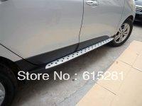 Hyundai ix35 Side step bar running board ,Aluminium alloy+ABS, Free Shipping