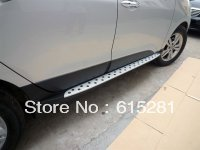 Hyundai ix35 Side step bar running board ,Aluminium alloy+ABS, Free Shipping