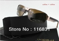 hot sale free shipping High quality men's p 8485 fishing mirror driver  polarized sunglasses with logo have a choice orig box