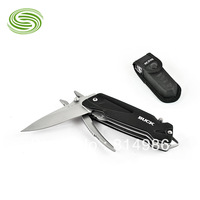 Wholesale or Retail Multifunctional Folding Blade Knife Camping Knife Buck Knife Utility Knife Free Shipping