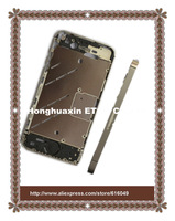 For iPhone 4s middle frame,Newest Silver Plating Bezel Middle Chassis Frame Housing For iPhone 4S with free shiipping