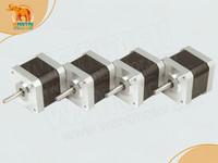 4pcs NEMA17 for 4000g.cm CNC stepper motor stepping motor/1.7A wantai cnc motor 42BYGHW609 High Quality in 3D Printer