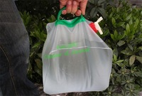 20L pvc portable folding water bag for outdoor camping folding water bottle 1pc