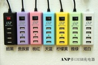 2.1A 4-Port USB AC Wall Charger Adapter for iPhone 5 5G iPhone 4 4S iPad 4 10pcs free shipping
