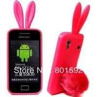 For Samsung S5830 i579 Galaxy Ace case Rabbit soft silicone Case TPU case with high quality Free shipping