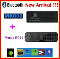 Hot!! MK808B Android 4.2 MK808 RK3066 1.6GHz Cortex-A9 dual core stick HDMI Android Mini TV Box +RC11 Air mouse Keyboard Russian