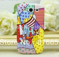 Cute Street Style Graffiti Flip Scrawl Hard Case Cover For Samsung Galaxy S3 III GT-i9300 Plastic Case for i9300