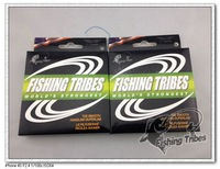 Wholesale - 100mFISHING TRIBES100% 10LB15LB20LB30LB40LB50LB65LB80LB100LB gray dyneema braided fishing line free shipping