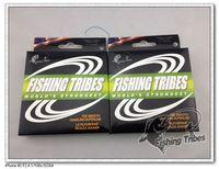 Wholesale - 100mFISHING TRIBES100% 10LB15LB20LB30LB40LB50LB65LB80LB100LB gray dyneema braided fishing line free shipping