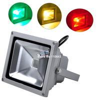 85-265V High Power  IP65 20W RGB LED FloodLight Flood Light Outdoor Light Color Change 2047
