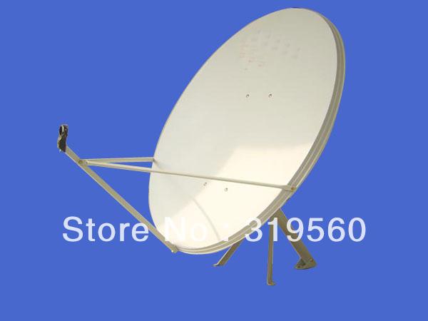 KU band satellite antenna/ satellite dish 120CM/ steel panel/wall mount KU-120-III(China (Mainland))