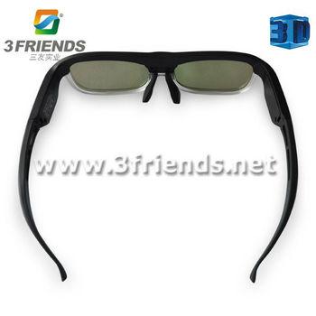 New arrivel 3D active shutter glasses Bluetooth 3D glasses