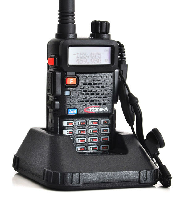 Holiday Sale 2pcs Walkie Talkie VHF+UHF Dual band 8W 128CH UV-985 VOX DTMF Two-Way Radio Interphone Transceiver A1002A(China (Mainland))