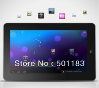 "10.2"" 1GB RAM 16GB 8GB 4GB HDD Android 4.0 Allwinner A10 1.2GHz GPS WIFI HDMI tablet pc"