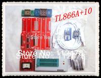 Free Shipping Russian&English Software V6.0 MiniPro TL866 BIOS USB Universal Programmer TL866A +11 IC adapters +TSOP48 TSOP32/40