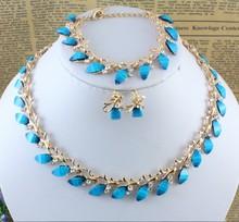 popular garnet jewelry set