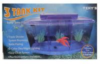 Fish tank LED Betta Bowl Aquarium Kit 1/3 Gallon Free shipping