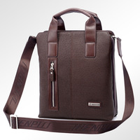 Free shipping ,Man bag shoulder messenger bag, business leather bag briefcase (ZPS8702-27)