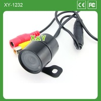 Rear view waterproof and night vision car camera with bracket