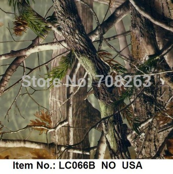 Item No. LC066B Hydrographic Film of Camo Pattern