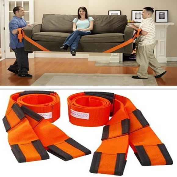 Retail Forearm Forklift Lifting Moving Strap Transport Belt Wrist Straps Furniture Free shipping(China (Mainland))