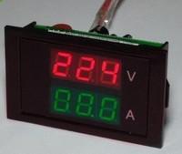 Free shipping,, 50A ,100A , split precision transformer color dual-voltage ammeter head