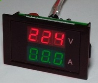 Free shipping,, 50A ,100A , split precision transformer color dual-voltage ammeter head