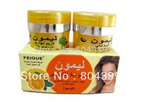 Wholesale lemon skin lightening cream day cream+night cream 20g+20g