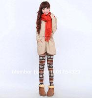 Free shipping ML7558 New Arrival  women Warm Velvet Snow leggings