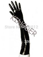 Natural latex long gloves