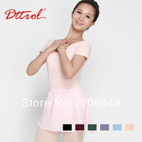Free shipping!Dttrol Adult Short Sleeve Seamless ballet dance Leotard (D004789)